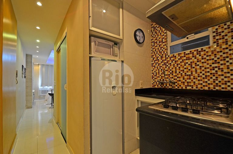 Apartment for up to 3 people, near Copacabana beach
